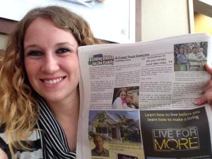 My 1st published work!  Thank you SO  much Gulf Coast Family for giving me this honor! <3 #GodisAwesome