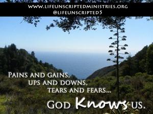 God knows us