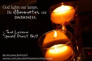 he illuminates